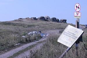 Активисты ОНФ в Челябинской области очистили от мусора памятник археологии Большие Аллаки