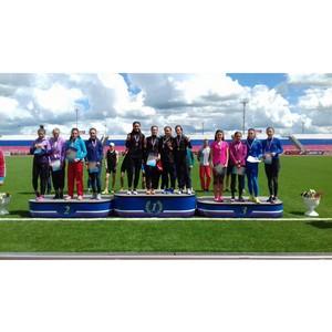 Луч на первенстве России по легкой атлетике среди молодежи