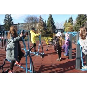 В Мокшане Пензенской области открылась новая спортивная площадка
