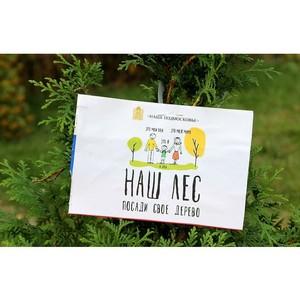Husqvarna поддержала ежегодную акцию «Наш лес. Посади свое дерево»