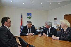 Мэр Орла Сергей Ступин встретился с мэром Форте-деи-Марми Умберто Буратти