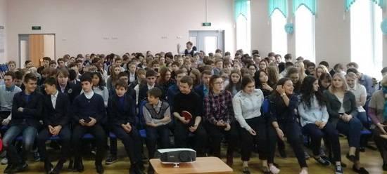 Фрязинским школьникам о НИЕВ