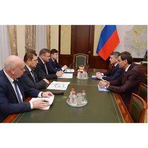 Губернатор Рязанской области и генеральный директор ПАО