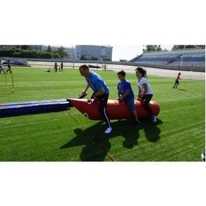 Омские таможенники приняли участие в физкультурно-спортивном празднике