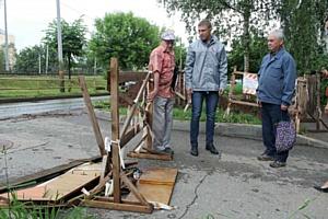 Активисты ОНФ добиваются ремонта опасного участка дороги в Кирове