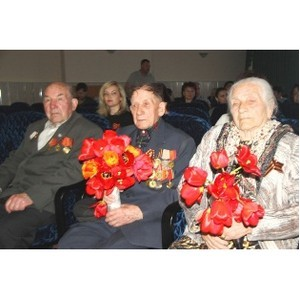 Рязаньэнерго поздравил ветеранов с Днем Победы