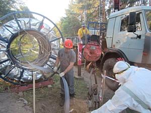«Росводоканал» реконструирует трубопровод в Воронеже по японской технологии