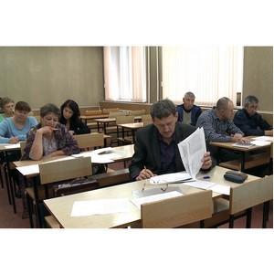 Предпенсионеры Уралвагонзавода сели за парту