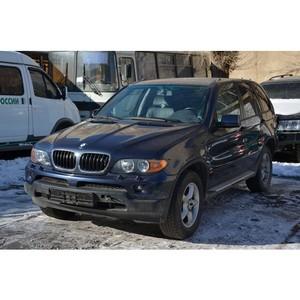 Оренбургской таможней в рамках административного производства изъят автомобиль BMW X5