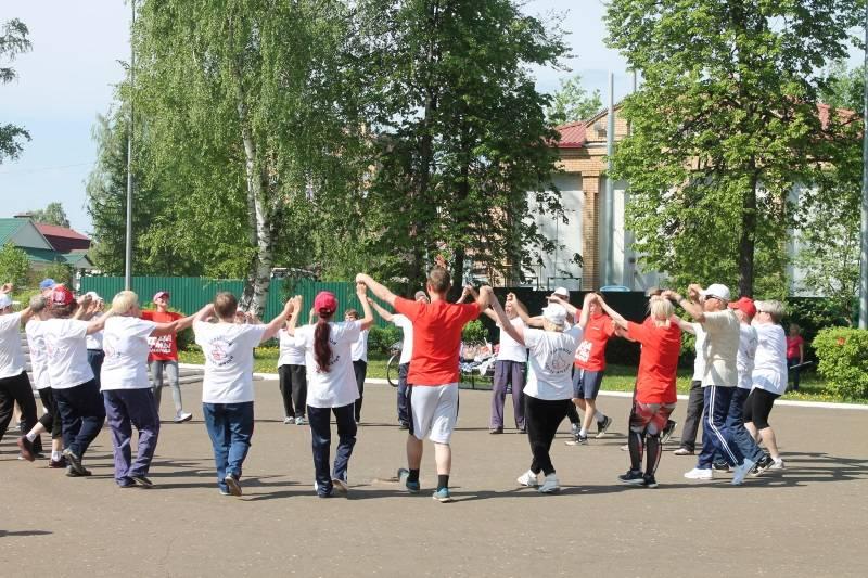 Команда «Молодежка ОНФ» в Мордовии присоединилась к Всероссийской акции «Спортивные выходные»