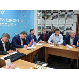 Самарские активисты ОНФ приняли участие в заседании Центрального штаба ОНФ