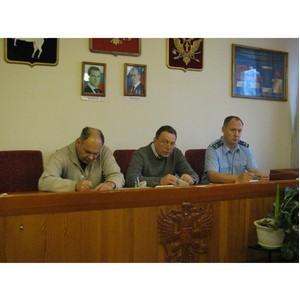 Представители ОНК и прокуратуры посетили ЛИУ-1