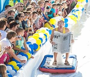 В Красноярске завершилось спортивное состязание «Летний горнолужник»