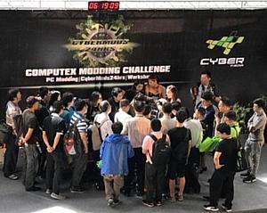 CyberMedia и Taitra вывели моддинг на мировую сцену на выставке Computex 2017