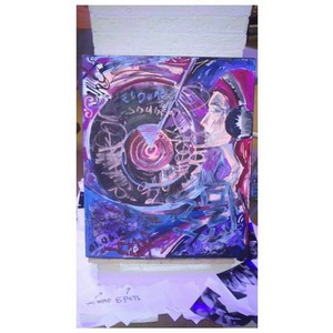 Состоялась выставка Марии Красновой Vinyl Ackryl, part. 2