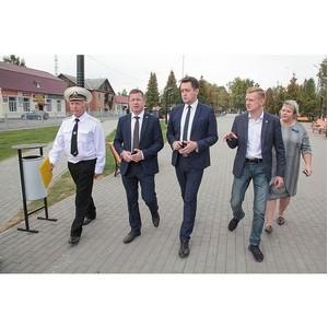 В Тульской области продолжается благоустройство дворов и общественных пространств