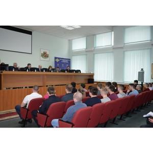 Руководство окружного Управления Зеленограда встретилось с молодыми сотрудниками ОВД