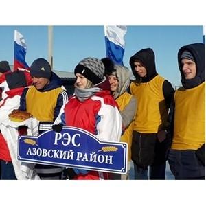 Зимняя спартакиада состоялась в «Омскэнерго»
