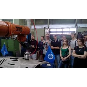 Учебная практика для студентов в Региональном центре лазерных технологий