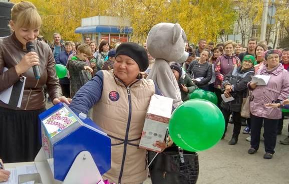 Итоги акции «Розыгрыш подарков» в Горно-Алтайске подведены