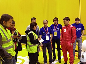 Российская команда приняла участие в «Шелл» эко-марафоне