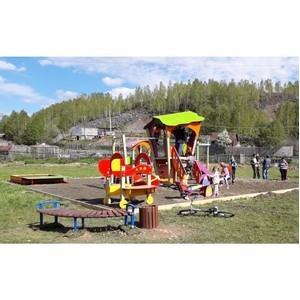 В 2019 году в Кузбассе установлены 100 детских площадок