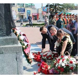 Активисты ОНФ в Алтайском крае приняли участие в мероприятиях, посвященных Дню памяти и скорби