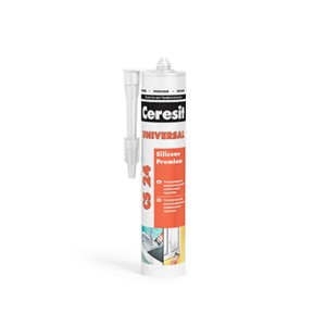 Ceresit CS 24. Универсальный силиконовый герметик