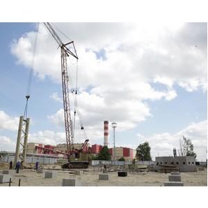 На секции дополнительного обогащения СГОКа начали возведение каркаса здания