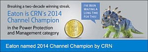 Eaton - Чемпион ИT-канала 2014