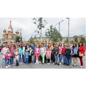 Работники Костромаэнерго познакомились с достопримечательностями столицы