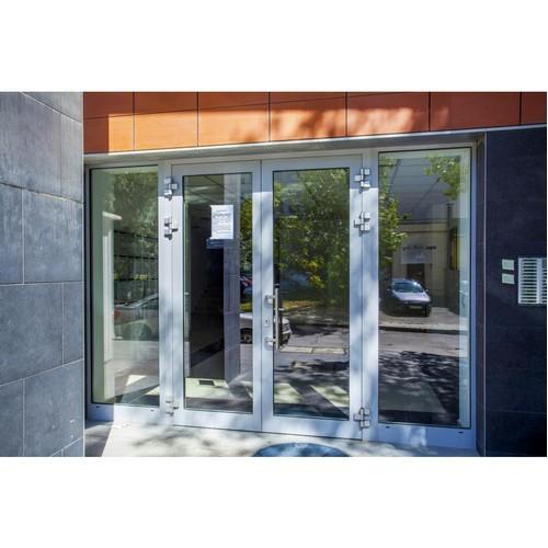 Алюминиевые двери - монтаж и изготовление