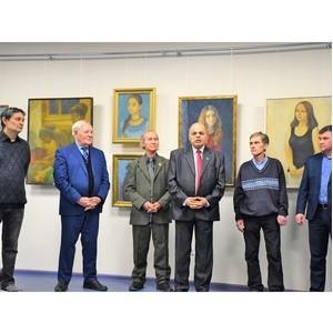 Сто картин художника Владимира Енилина посвящены юбилею Чувашии