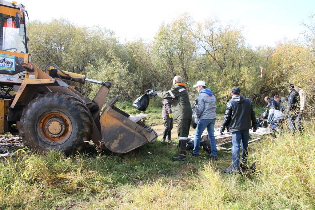 В Коми прошла экологическая акция ОНФ «Генеральная уборка страны»
