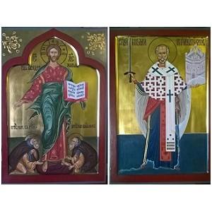 Списки с раскрытых фресок Московского Кремля для Фонда Св. Андрея Первозванного