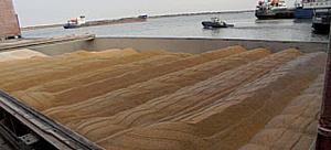 О транзите продовольствия через Ростовский речной порт в апреле 2016 г.