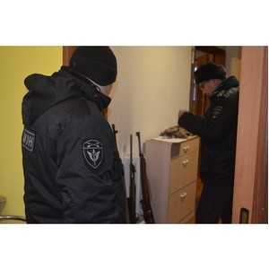 Росгвардия на охране общественного порядка во время праздников в Туве