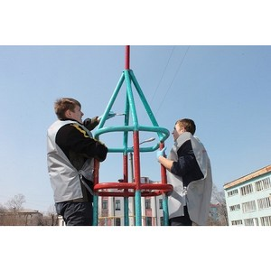 Команда «Молодежки ОНФ» в Амурской области приняла участие в акции в честь Дня космонавтики