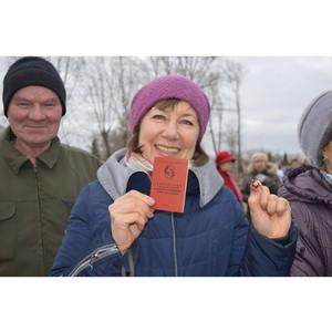 Студенты Рубцовского института (филиала) АлтГУ на торжественном мероприятии «Комсомол - моя судьба»