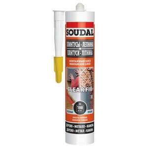 Soudal вводит на рынок новый продукт – монтажный клей Clear Fix