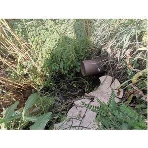 ОНФ просит проверить факт сброса нечистот в приток Левой Богучарки