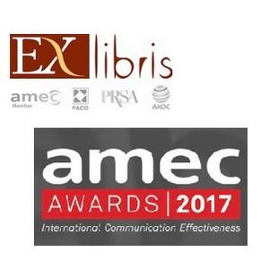 Агентство Ex Libris среди финалистов AMEC AWARDS в номинации «Best measurement of a B2B campaign»