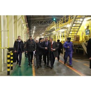 Запуск завода по производству инновационных утеплителей  компании «Knauf Insulation» в Ступино