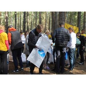 «Балтика» за раздельный сбор и переработку отходов