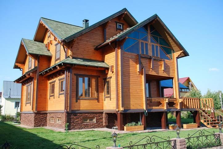Дом из профилированного бруса  в Уфе