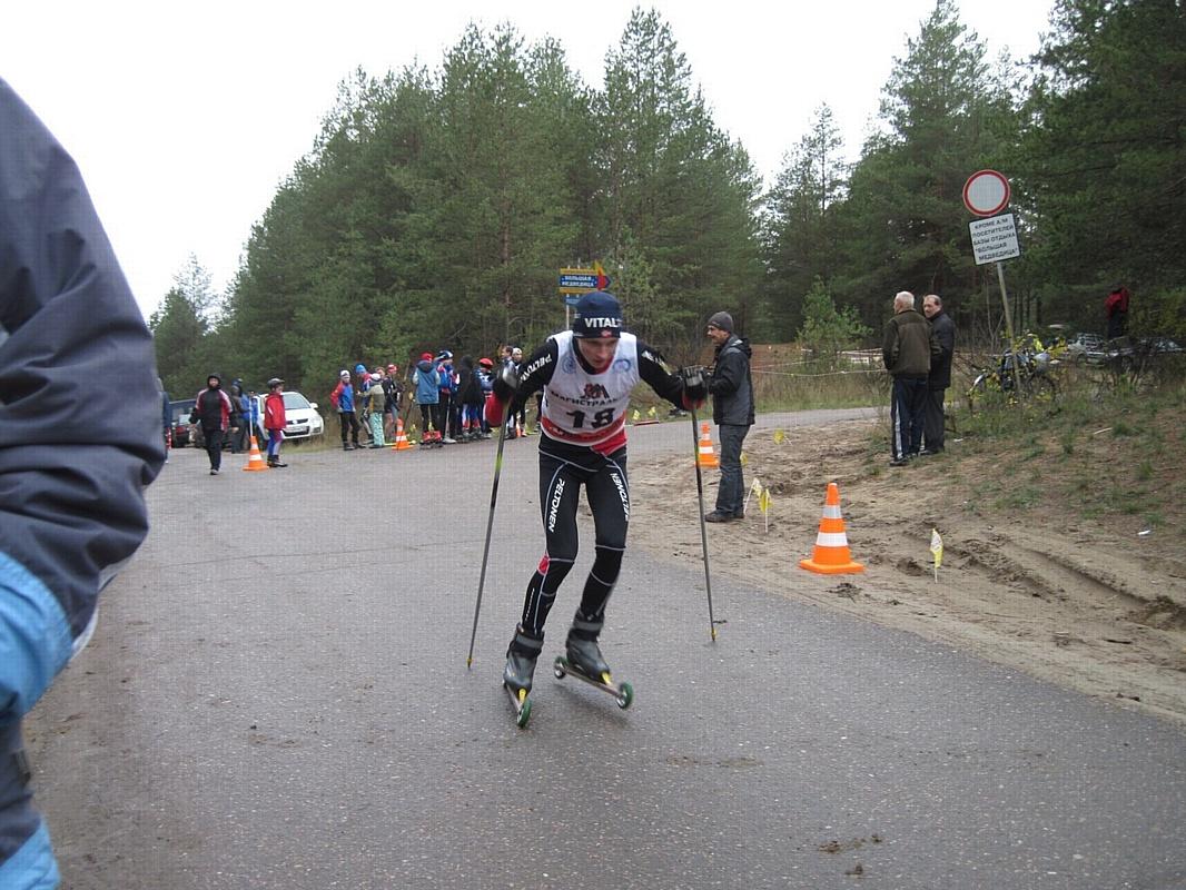 Студент РАНХиГС стал победителем и призером открытого чемпионата по лыжероллерам и кроссу