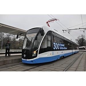 «ПК Транспортные системы» поставила 20 трамваев «Витязь М» в Москву