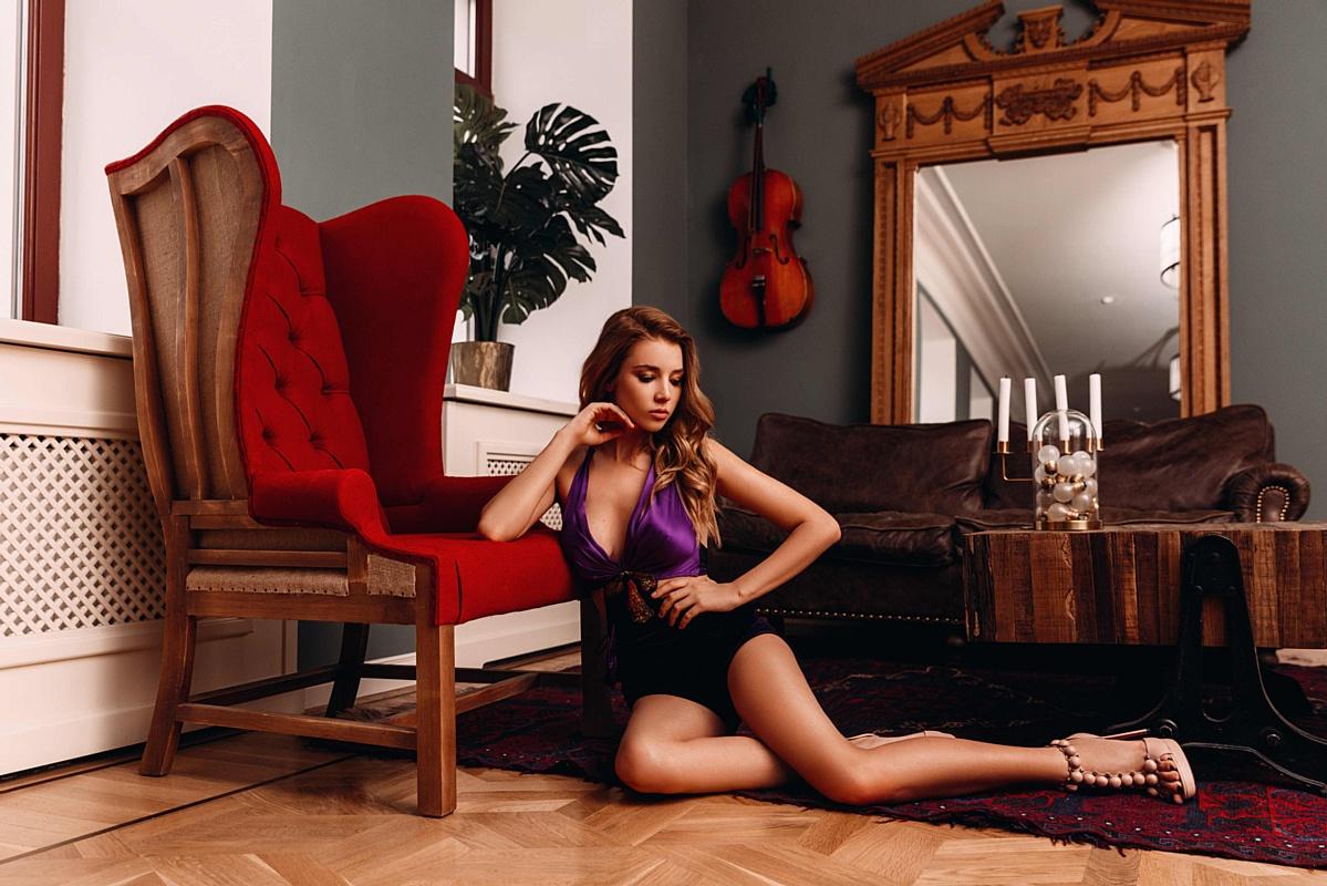 Анастасия Михайлюта для Maxim Italia