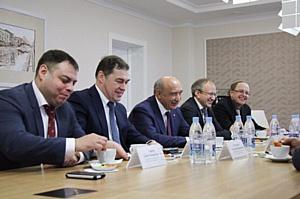 Ректор КФУ принял участие в обсуждении развития сети эфирного цифрового телевидения