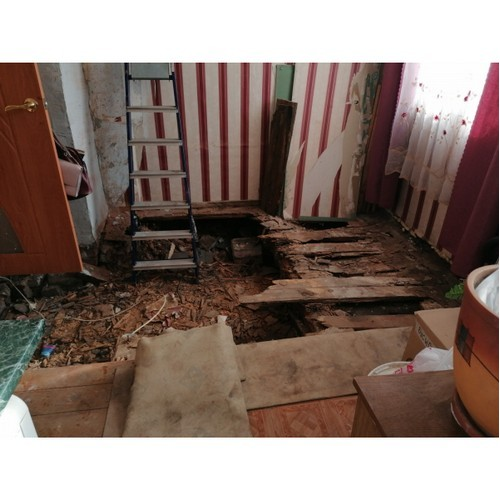 Администрация Котельнича восстановит провалившийся пол в квартире